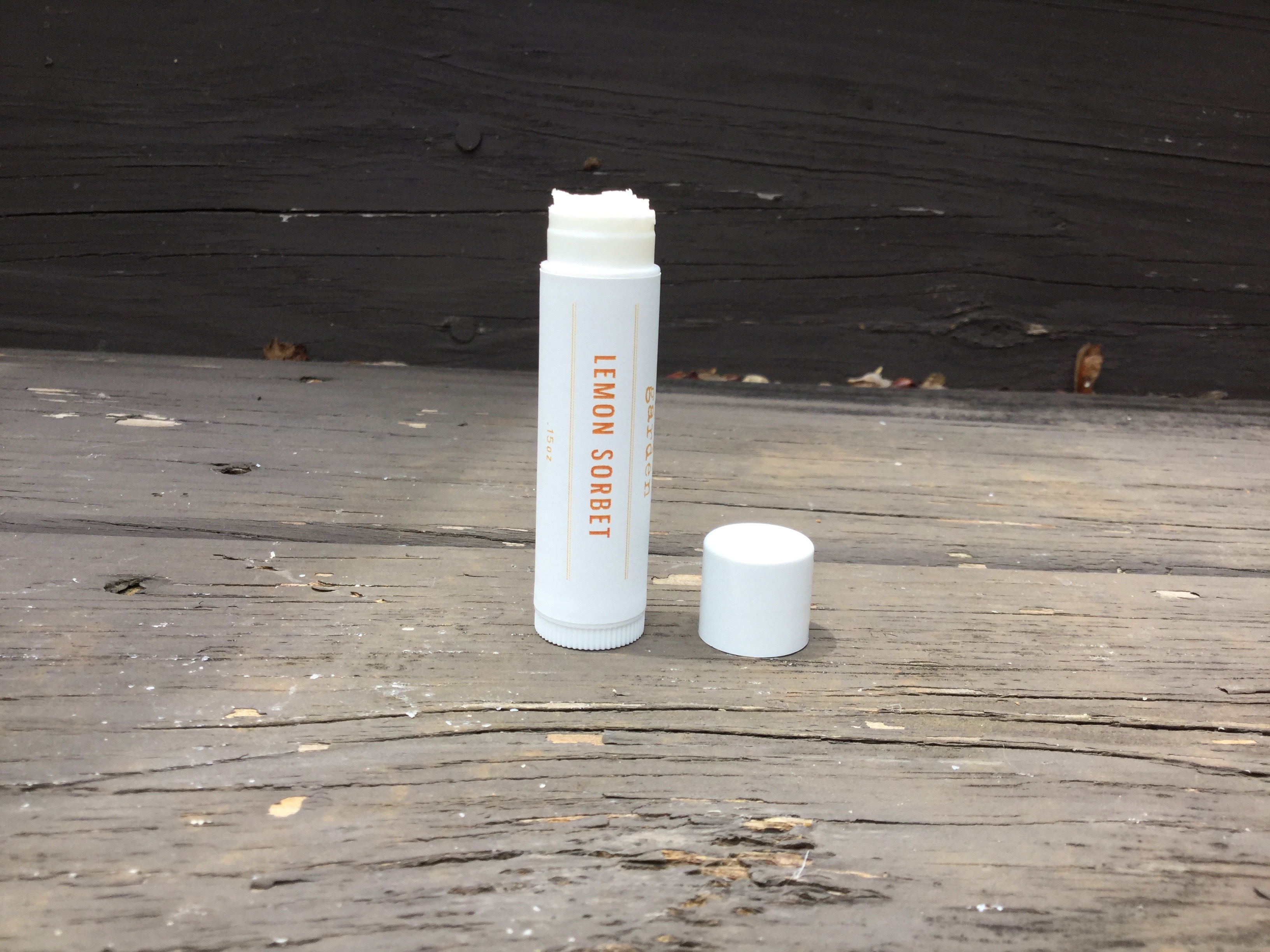Herbal lip balm made in South Carolina by The Herb Garden